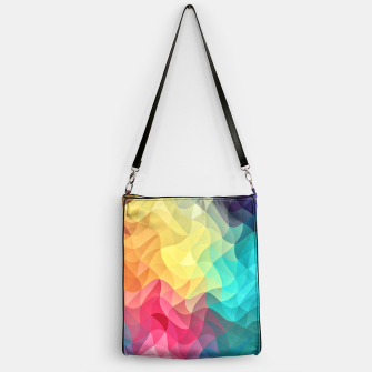 Thumbnail image of Abstract Color Wave Flash Handbag, Live Heroes