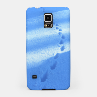 Thumbnail image of Tracks-on-the-snow Samsung Case, Live Heroes