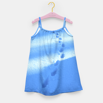 Thumbnail image of Tracks-on-the-snow Girl's Dress, Live Heroes