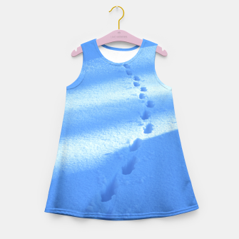 Thumbnail image of Tracks-on-the-snow Girl's Summer Dress, Live Heroes
