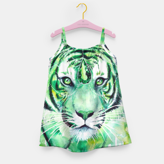Thumbnail image of Emerald Tiger Girl's Dress, Live Heroes