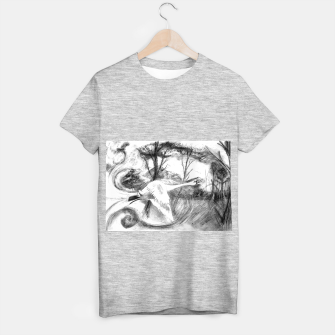 Thumbnail image of Swan T-shirt regular, Live Heroes