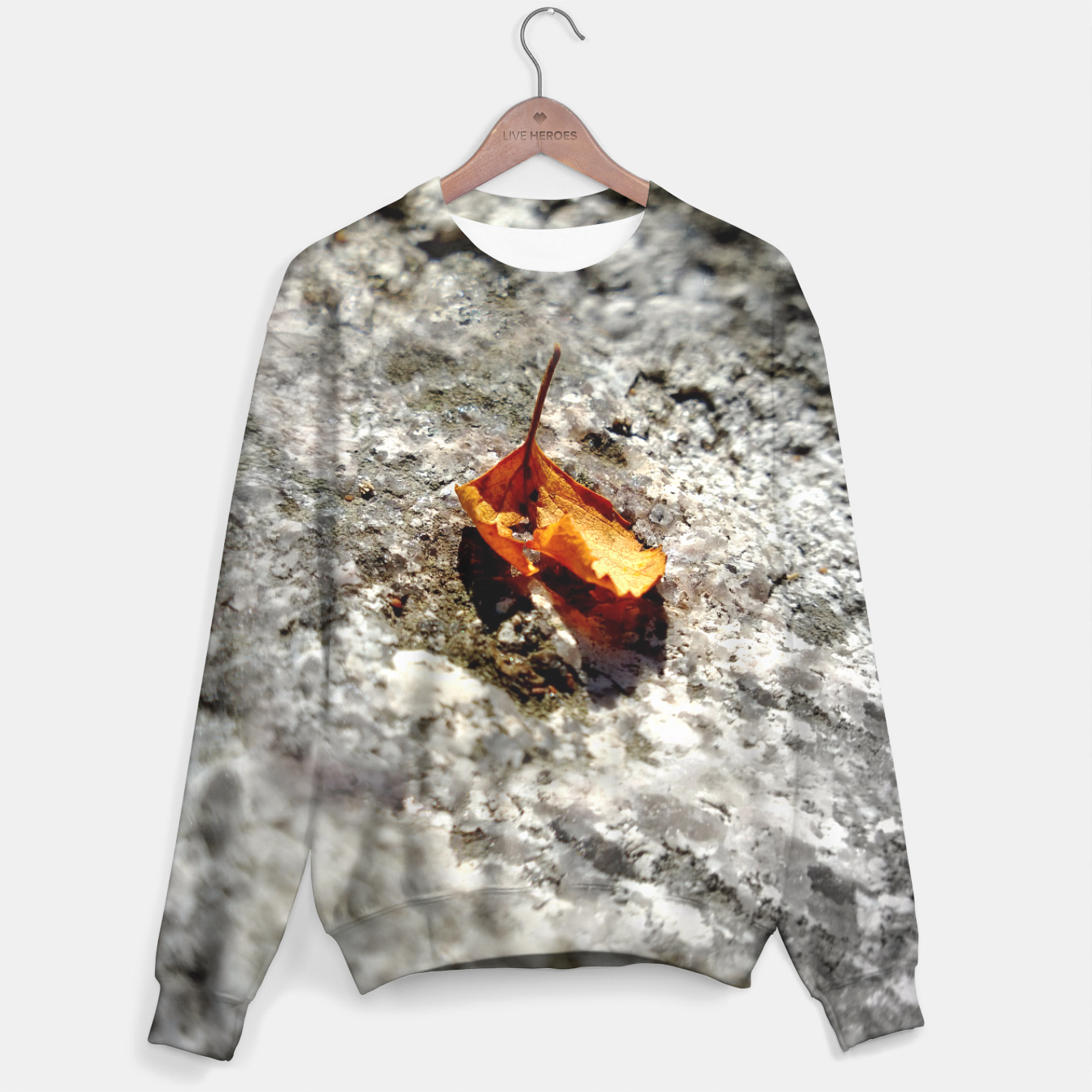 Image of LeafOnRock Sweater - Live Heroes