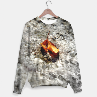 Thumbnail image of LeafOnRock Sweater, Live Heroes