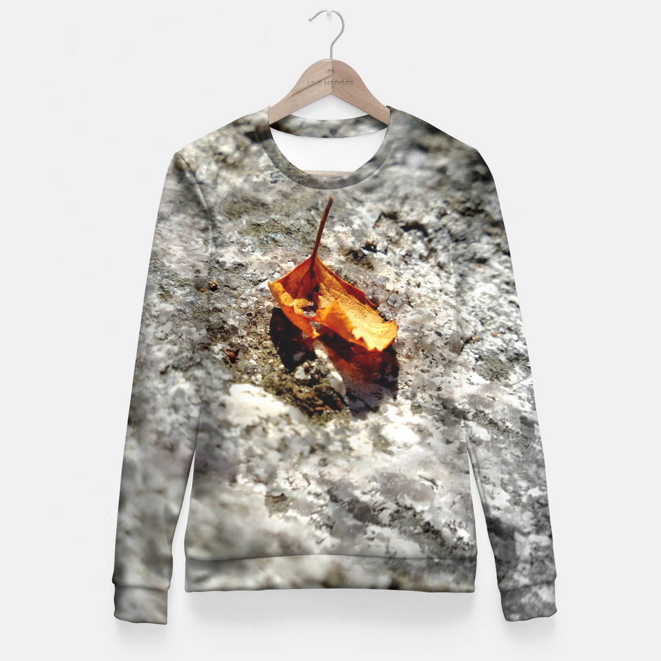 Image of LeafOnRock Fitted Waist Sweater - Live Heroes