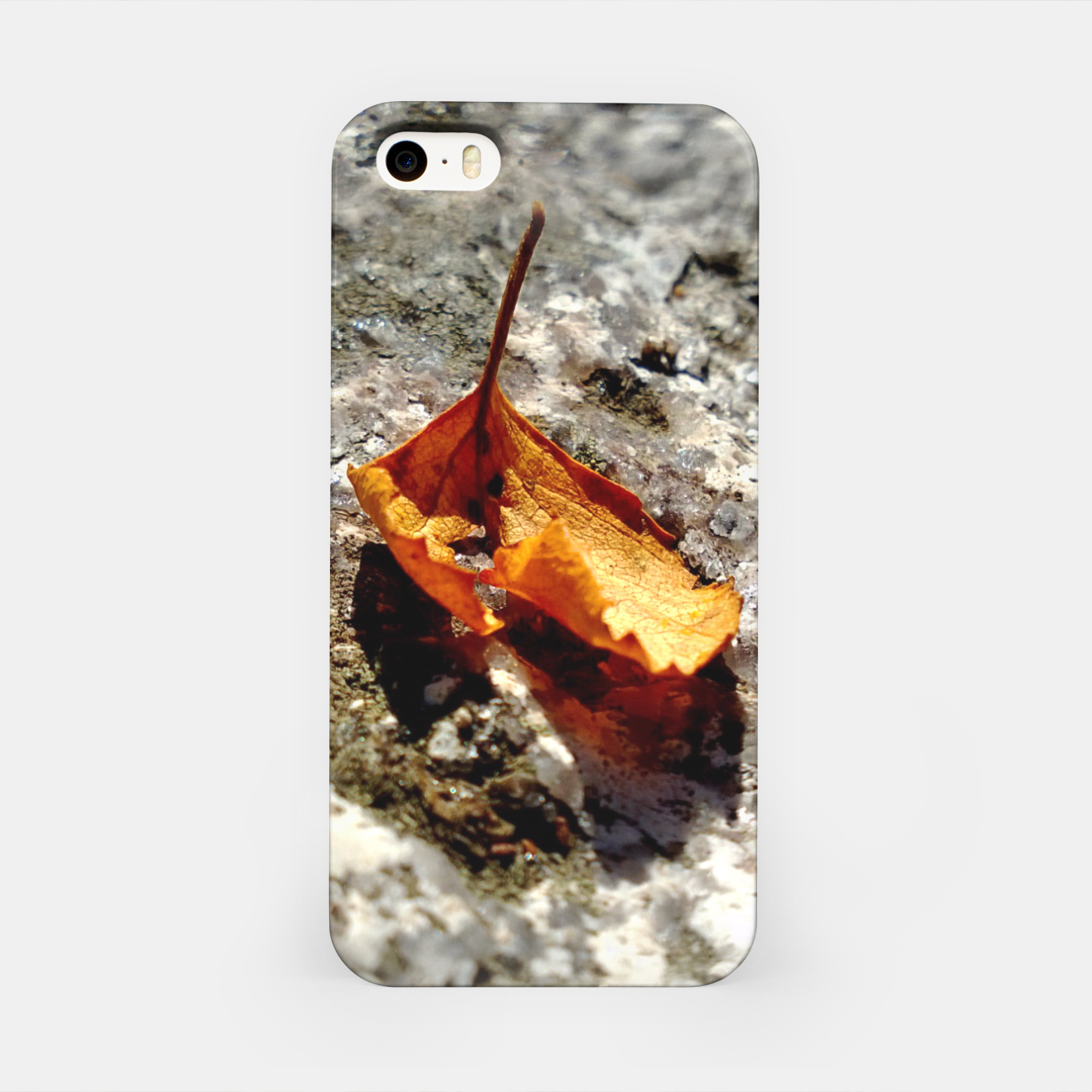 Image of LeafOnRock iPhone Case - Live Heroes