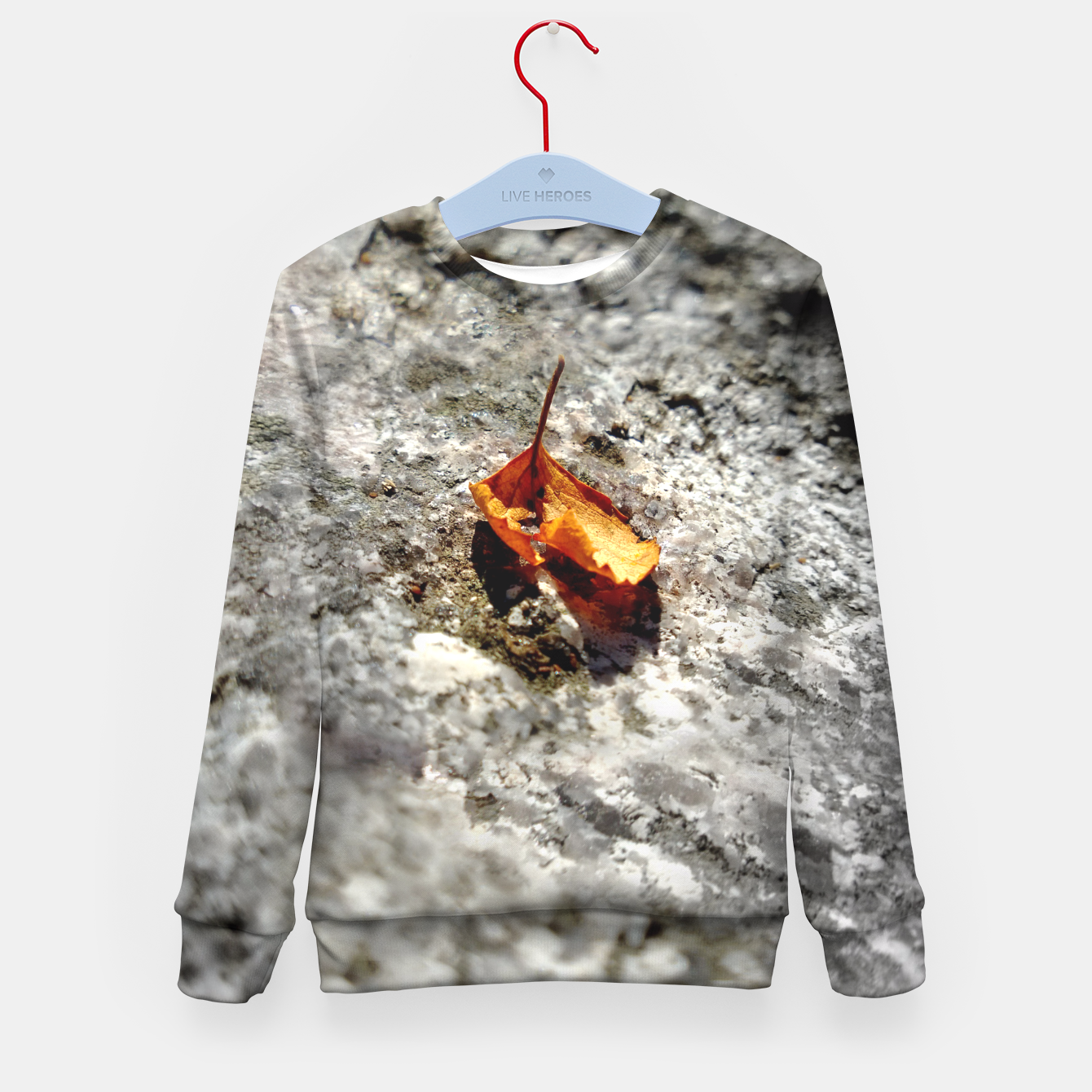Image of LeafOnRock Kid's Sweater - Live Heroes