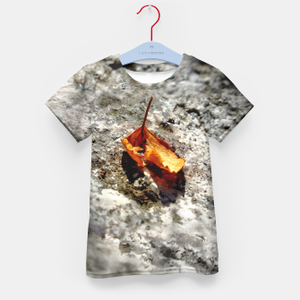 Thumbnail image of LeafOnRock Kid's T-shirt, Live Heroes