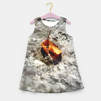 Thumbnail image of LeafOnRock Girl's Summer Dress, Live Heroes