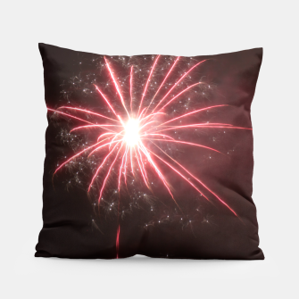 Thumbnail image of Fireworks Pillow, Live Heroes