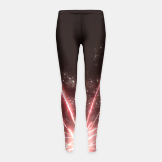Thumbnail image of Fireworks Girl's Leggings, Live Heroes