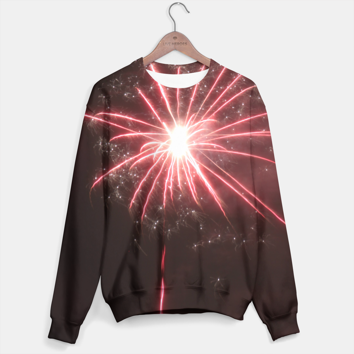 Image of Fireworks Sweater - Live Heroes