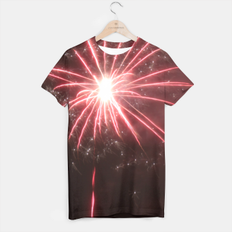Thumbnail image of Fireworks T-shirt, Live Heroes