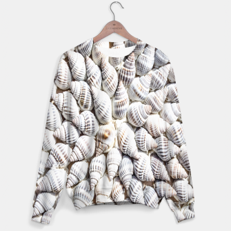 White Seashells pattern Sweater thumbnail image