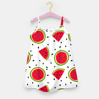 Thumbnail image of Watermelon slices Girl's Dress, Live Heroes