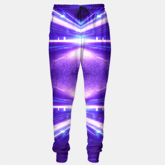 Miniature de image de Geometric Street Night Light (HDR Photo Art) Purple Sweatpants, Live Heroes