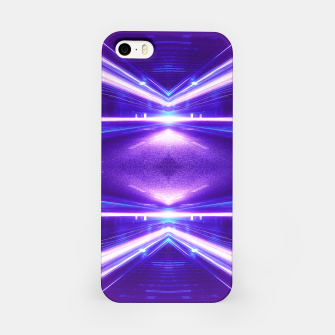 Miniature de image de Geometric Street Night Light (HDR Photo Art) Purple iPhone Case, Live Heroes