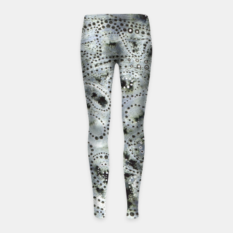 Thumbnail image of Somewhat Mystical Girl's Leggings, Live Heroes