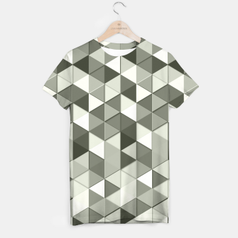 Thumbnail image of Grayscale triangle galore T-shirt, Live Heroes