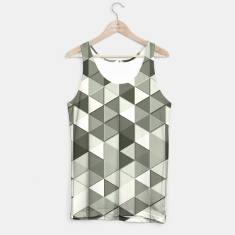 Thumbnail image of Grayscale triangle galore Tank Top, Live Heroes