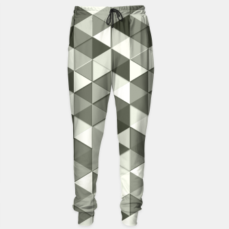 Thumbnail image of Grayscale triangle galore Sweatpants, Live Heroes