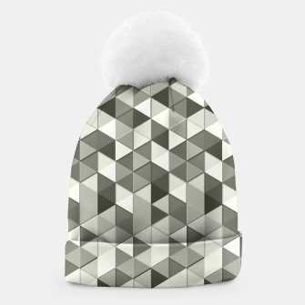 Thumbnail image of Grayscale triangle galore Beanie, Live Heroes