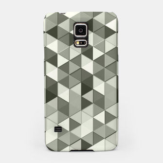 Thumbnail image of Grayscale triangle galore Samsung Case, Live Heroes