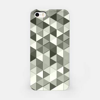 Thumbnail image of Grayscale triangle galore iPhone Case, Live Heroes