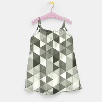 Thumbnail image of Grayscale triangle galore Girl's Dress, Live Heroes