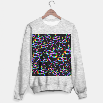 Thumbnail image of Snake Psychedelic Rainbow Colors Sweater regular, Live Heroes
