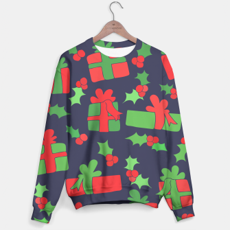 Miniatur Christmas Gifts and Holly Sweater, Live Heroes
