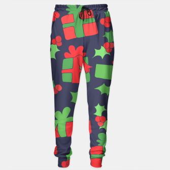 Miniatur Christmas Gifts and Holly Sweatpants, Live Heroes