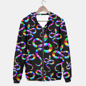 Thumbnail image of Snake Psychedelic Rainbow Colors Hoodie, Live Heroes