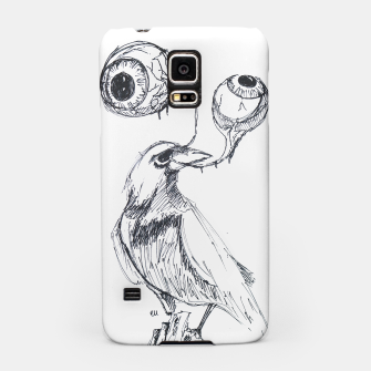 Thumbnail image of With the Bird I'll Share This Lonely View Samsung Case, Live Heroes