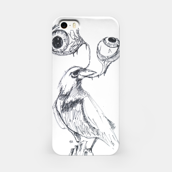 Thumbnail image of With the Bird I'll Share This Lonely View iPhone Case, Live Heroes