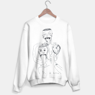 Thumbnail image of Brain and Heart Sweater regular, Live Heroes
