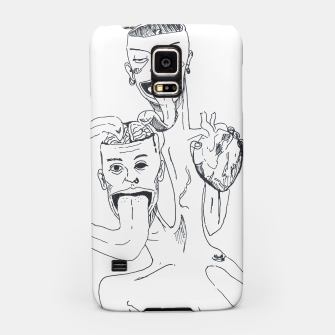Thumbnail image of Brain and Heart Samsung Case, Live Heroes