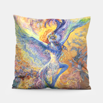 Thumbnail image of Blue Bird Pillow, Live Heroes