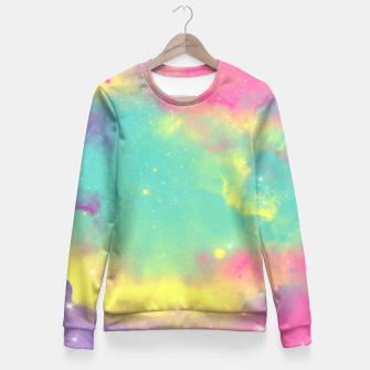 Thumbnail image of Colorful Environment Fitted Waist Sweater, Live Heroes