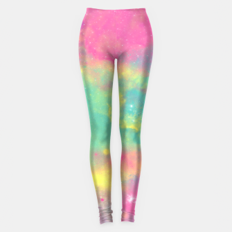 Thumbnail image of Colorful Environment Leggings, Live Heroes