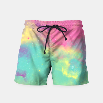 Thumbnail image of Colorful Environment Swim Shorts, Live Heroes