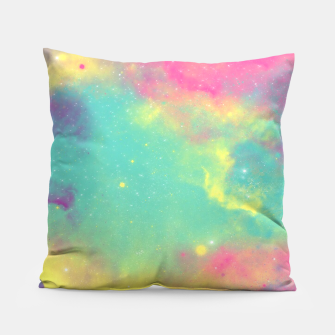 Thumbnail image of Colorful Environment Pillow, Live Heroes