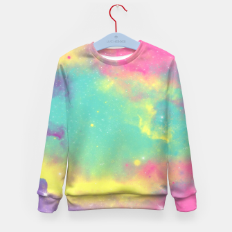 Thumbnail image of Colorful Environment Kid's Sweater, Live Heroes