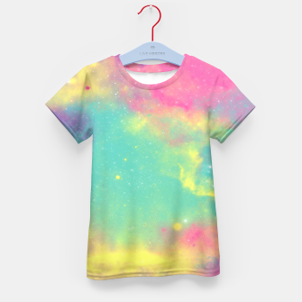 Thumbnail image of Colorful Environment Kid's T-shirt, Live Heroes