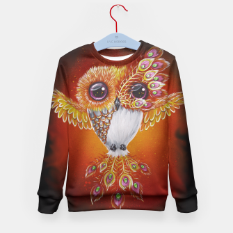Thumbnail image of Phoenixowl Kid's Sweater, Live Heroes