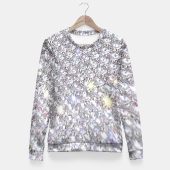 Thumbnail image of diamonds Fitted Waist Sweater, Live Heroes