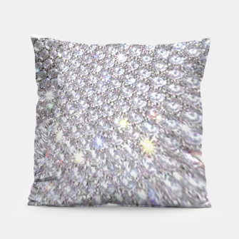 Thumbnail image of diamonds Pillow, Live Heroes