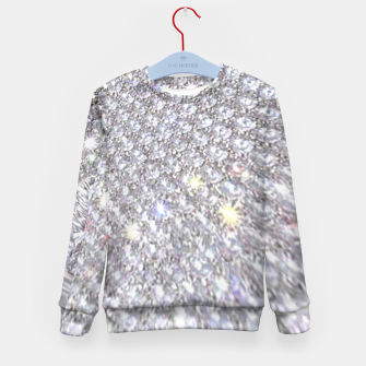 Thumbnail image of diamonds Kid's Sweater, Live Heroes
