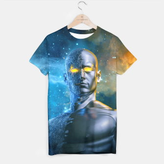 Thumbnail image of Between a Rock and a Hard Space T-shirt, Live Heroes