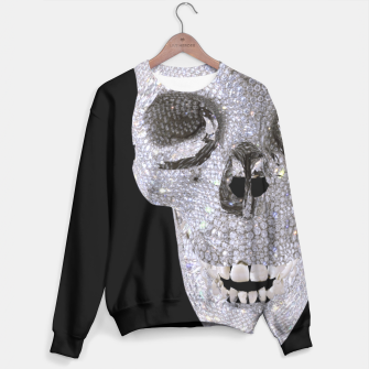 Thumbnail image of diamond skull Sweater, Live Heroes